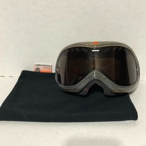 SPY Scoop Snow Goggles W/ Bag Orange Gray